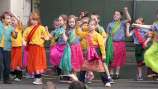 Bollywood Dancing at Beaumaris Primary Assembly 2014 Term 3