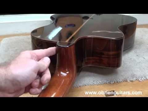 O'Brien Guitars Online Cutaway Guitar Building Course - Sample Lessons