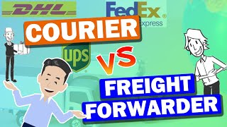What is the difference between Courier, EMS and Freight Forwarder? Explained each Air cargo service.