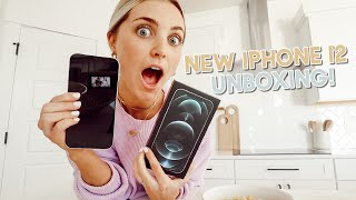 unboxing my new iphone 12 pro max + shooting a secret collab! by Aspyn + Parker