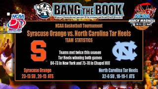 North Carolina vs. Syracuse Final Four Pick, Odds & Prediction