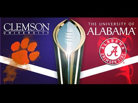 Alabama vs. Clemson National Championship HYPE VIDEO
