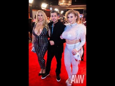 AVN AWARDS 2020 Red Carpet Sara Jay Karen Fisher Rome Major Cory Chase Maggie Green Chelsea Marie