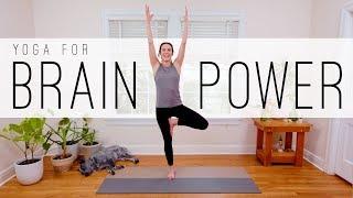 12 Min Yoga For Brain Power  |  Yoga With Adriene