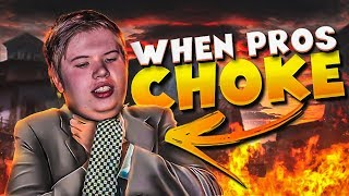 CS:GO - WHEN PRO PLAYERS CHOKE! (EASY MISSED SHOTS&WHIFFS)