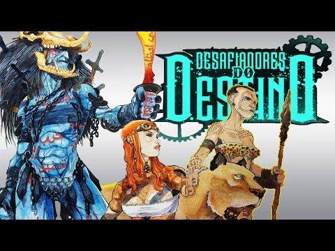 O DEFEITO DESSA HQ É TER FIM | Desafiadores do Destino: Disputa por Controle (FELIPE CASTILHO)