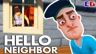 ЭТОТ СОСЕД ЧТО-ТО СКРЫВАЕТ! Hello Neighbor Мультяшная хоррор игра ПРИВЕТ СОСЕД от Cool GAMES