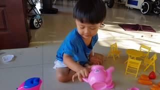 Đồ Chơi Nhà Bếp Mini Cho Bé Tập Nấu Ăn ❤ TinTin TV ❤