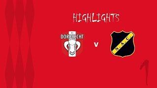 Samenvatting FC Dordrecht - NAC Breda (09-08-2019)