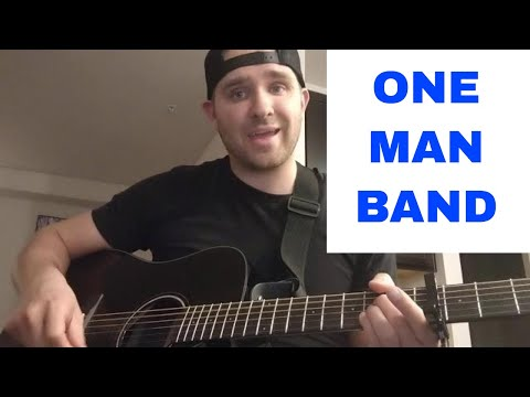 How to play One Man Band Old Dominion on guitar | Tutorial | Lesson