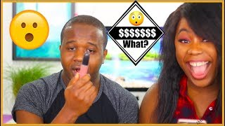 BOY FRIEND GUESSES MAKEUP PRICES!!! LOL | MsTopacJay