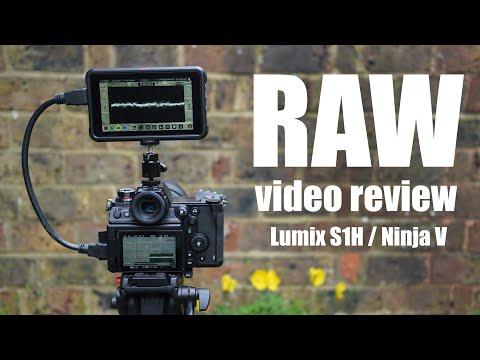 External Review Video YbDbCPNHIFs for Panasonic Lumix DC-S1H Full-Frame Camera