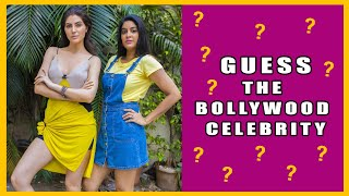 Guess The Bollywood Celeb Challenge ⭐ | feat. Elnaaz Norouzi | Sacred Games | Rickshawali