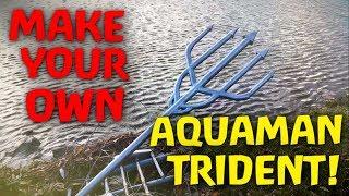 Make Aquaman's Trident! (DIY)