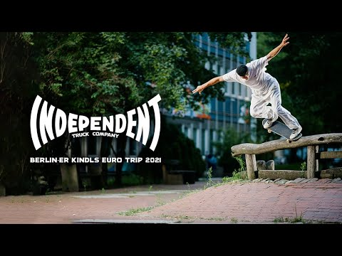 "Image for video Independent Trucks ""Berlin-er Kindls"" Euro Trip 2021 w/ Knox, Milou, Doobie & More!"