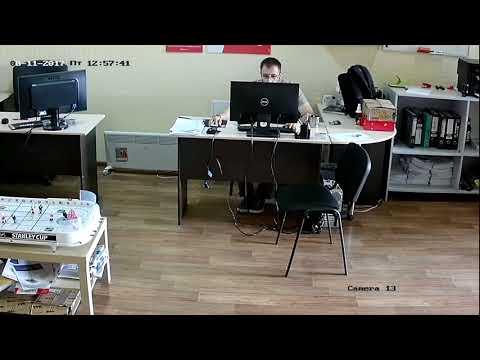 Камера Hiwatch DS-T109 дневная съемка в помещении