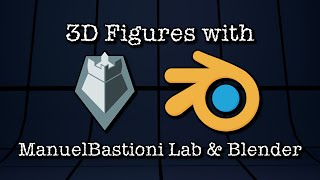 3D Figures in Blender with MBastioni Labs