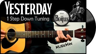 Yesterday (Original Tuning) - The Beatles / MusikMan #017 A
