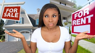 RENTING VS BUYING A Home In 2020 The TRUE Cost They Dont Want You To Know  *You Might Be Surprised*