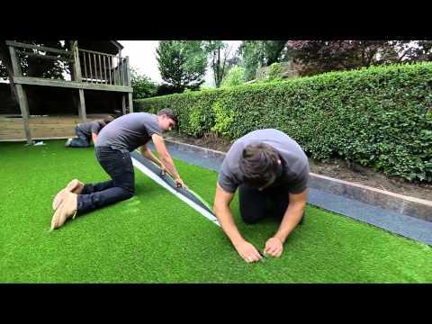 How to install artificial grass?