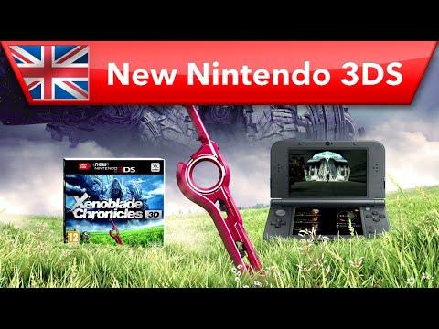Xenoblade Chronicles 3D - Launch Trailer