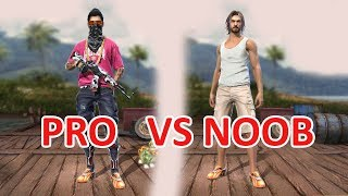PRO VS NOOB GAMEPLAY LIVE | RANKED MATCH |Garena Free Fire INDIA