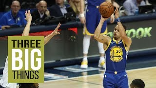 THREE BIG THINGS: Warriors' Stephen Curry puts up MVP level performance versus Mavericks
