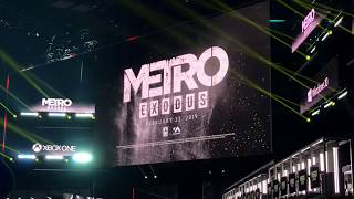 Metro Exodus E3 Crowd Reaction! - E3 2018