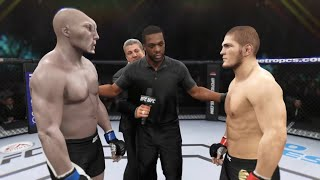 Khabib vs. Alien (EA Sports UFC 2)