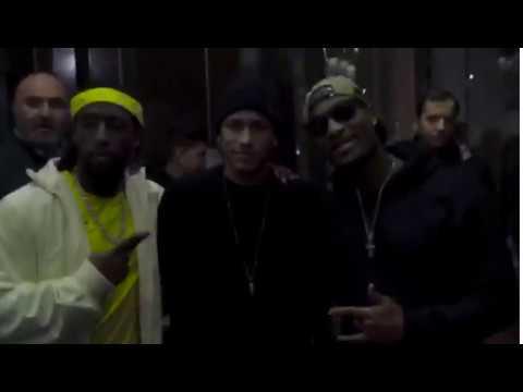 Rapper dos EUA encontra Neymar em Paris e manda um 'Vai Corinthians'
