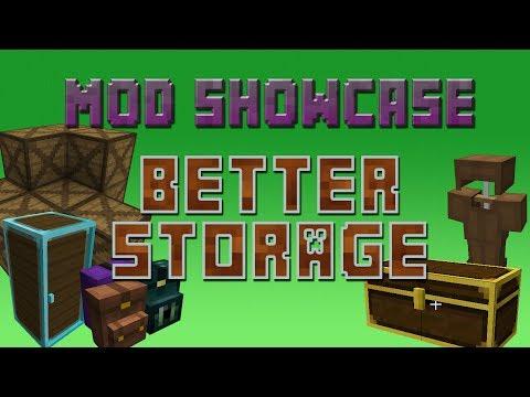 Minecraft - Mod Showcase: Better Storage!