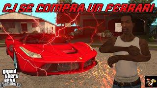cj se compra un ferrari - GTA San Andreas Loquendo