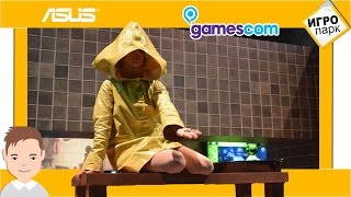 The most scariest stand of Gamescom 2016/Little Nightmares gameplay