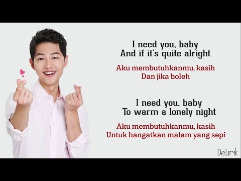 I Need You Baby - Joseph Vincent [Can't Take My Eyes Off You] - Lirik Dan Terjemahan (Cover) - DeLirik