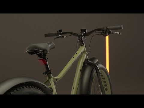 "Велосипед ФЭТБАЙК 26"" TRACTION DISC AL 8cк RUSH HOUR хаки"