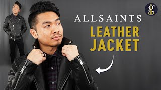 ALLSAINTS LEATHER JACKET Review   Milo Biker (Best Leather Jacket Series)