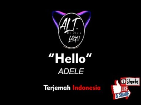Adele hello arti lirik terjemahan lagu indonesia