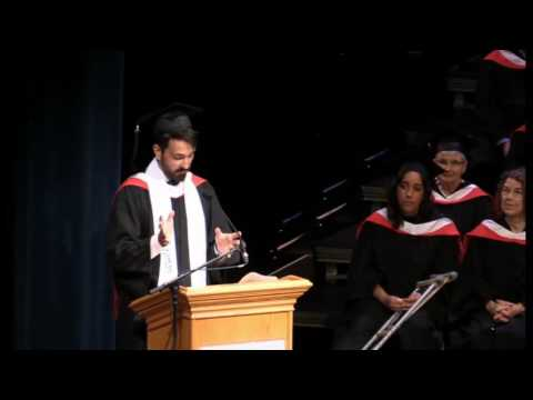 Valedictorian speech - June 7, 2016 (afternoon) - Vancouver Island University convocation