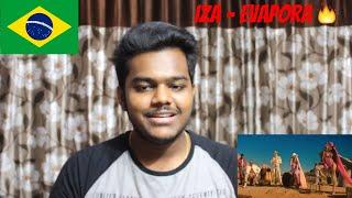 IZA, Ciara And Major Lazer   Evapora   REACTION (Reação)
