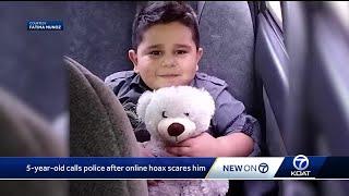 ABQ boy calls police after Momo scare