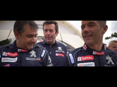 Silk Way Rally 2017 - Before the Start, Making Off Team Peugeot Total Official Picture