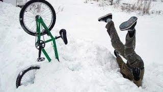 BMX зимой в Кемерово