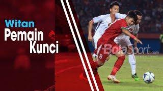 Witan Sulaeman Cetak Dua Gol ke Gawang Chinese Taipei