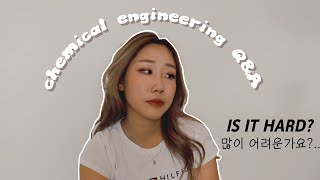 Chemical Engineering Q&A   Things you need to know before choosing ChemE