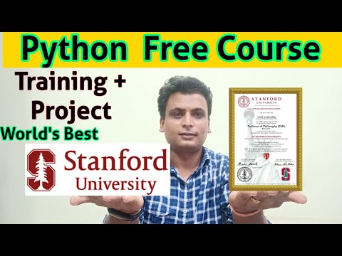 Python Free Training With Project STANFORD Free python training ...