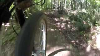 preview picture of video 'GoPro Hero2 - Training 47km MTB Castelli Romani (Rome, Italy)'