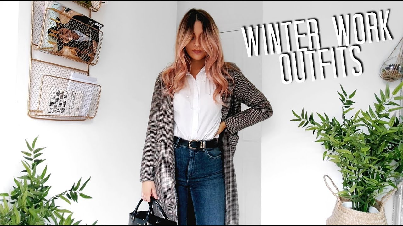 Winter Work Outfits 2017 | Fashion Influx