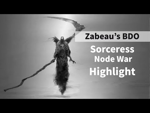 BDO Evasion Sorceress Node War PvP Montage - смотреть онлайн