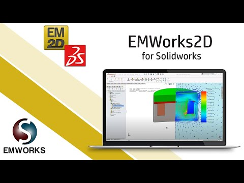 2D FEM Simulation of DC Actuator inside SOLIDWORKS