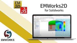 2D FEM Simulation of DC Actuator inside SOLIDWORKS